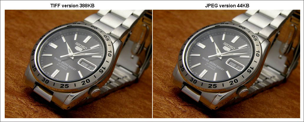 capturing time the jpeg format
