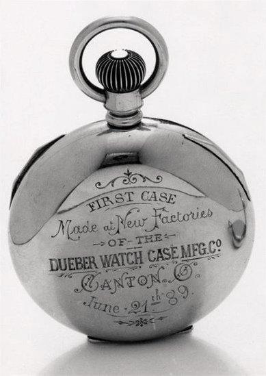 Hampden Watch, Deuber-Hampden watch factory, Deuber watch case, Presidential Watches, Canton Ohio 1880s