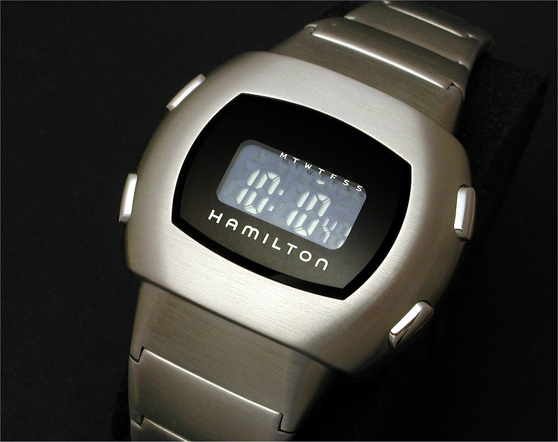 timezone public forum archive  new hamilton pulsomatic >>> an inverted lcd display intended to mimic the original led put out in 2003 and marketed along its appearance in the movie men in black ii