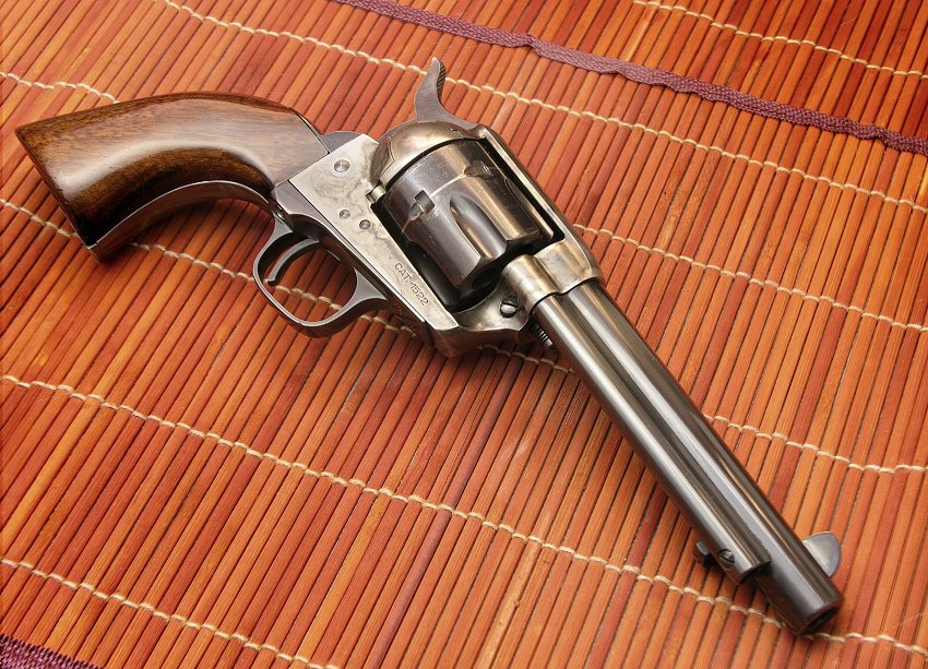uberti cattleman adjustable sights grips the firing line