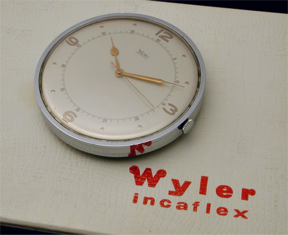 Incaflex, Paul Wyler, shock-protecting balance