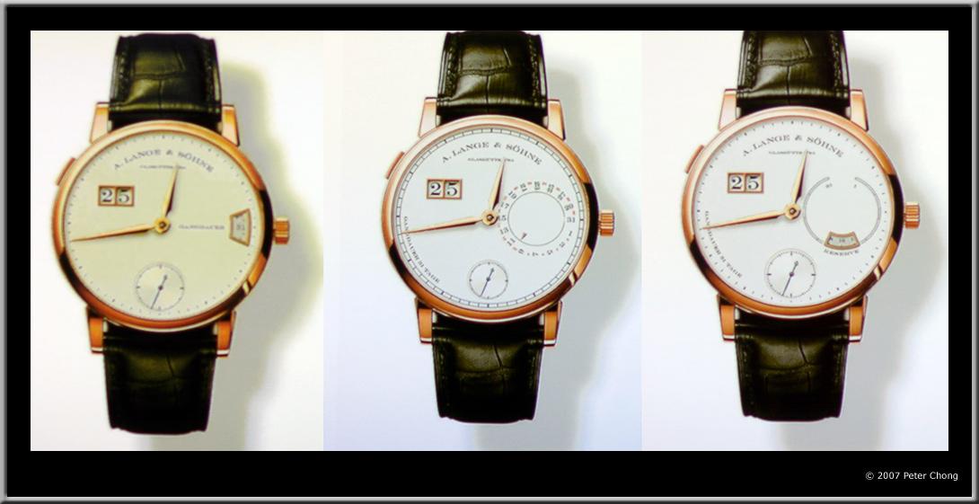 Lange 31 dial, Lange 31 dial design, Lange 31 Peter Chong