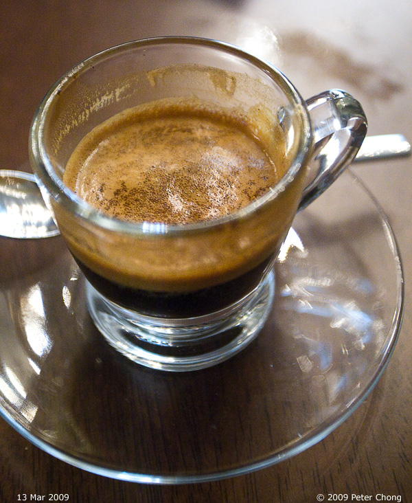 Ho Chiak: Oriole Cafe And Bar: Espresso To Satisfy At Last