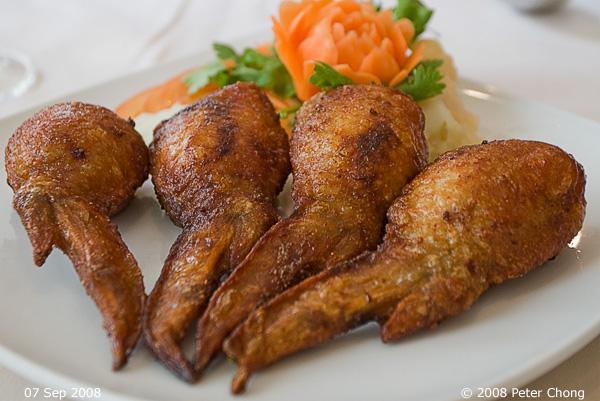 Thai Stuffed Chicken Wings