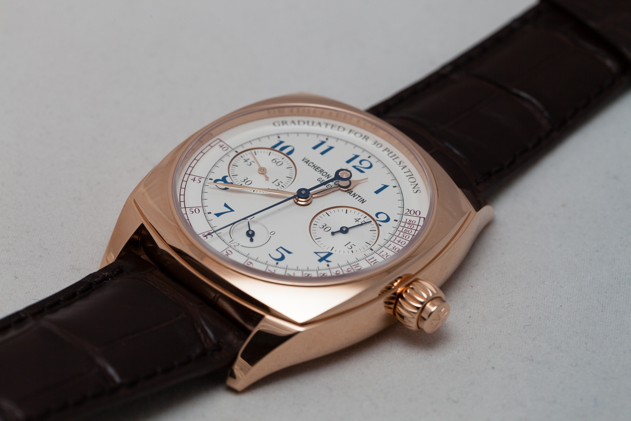 Vacheron Constantine Harmony Chronograph, Caliber 3300, Vacheron Caliber 3300, Vacheron chronograph, monopusher chronograph