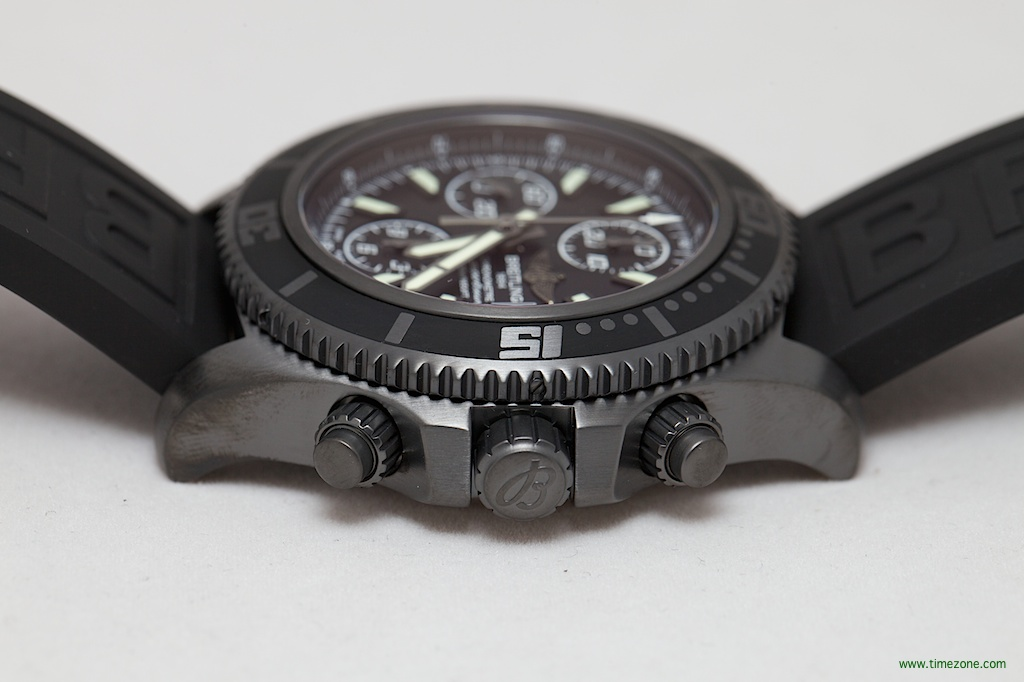 SuperOcean Chronograph II Black Steel, SuperOcean Black Steel