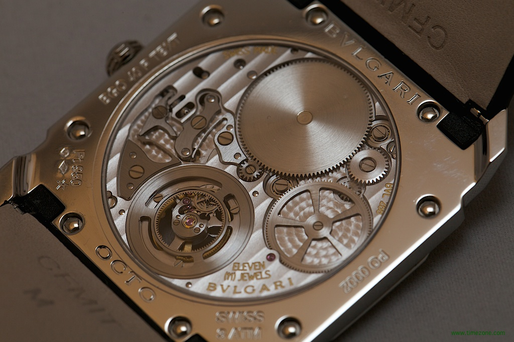 Bulgari Octo Finissimo Tourbillon, Bvlgari Octo Finissimo Tourbillon, thinnest tourbillon ever made
