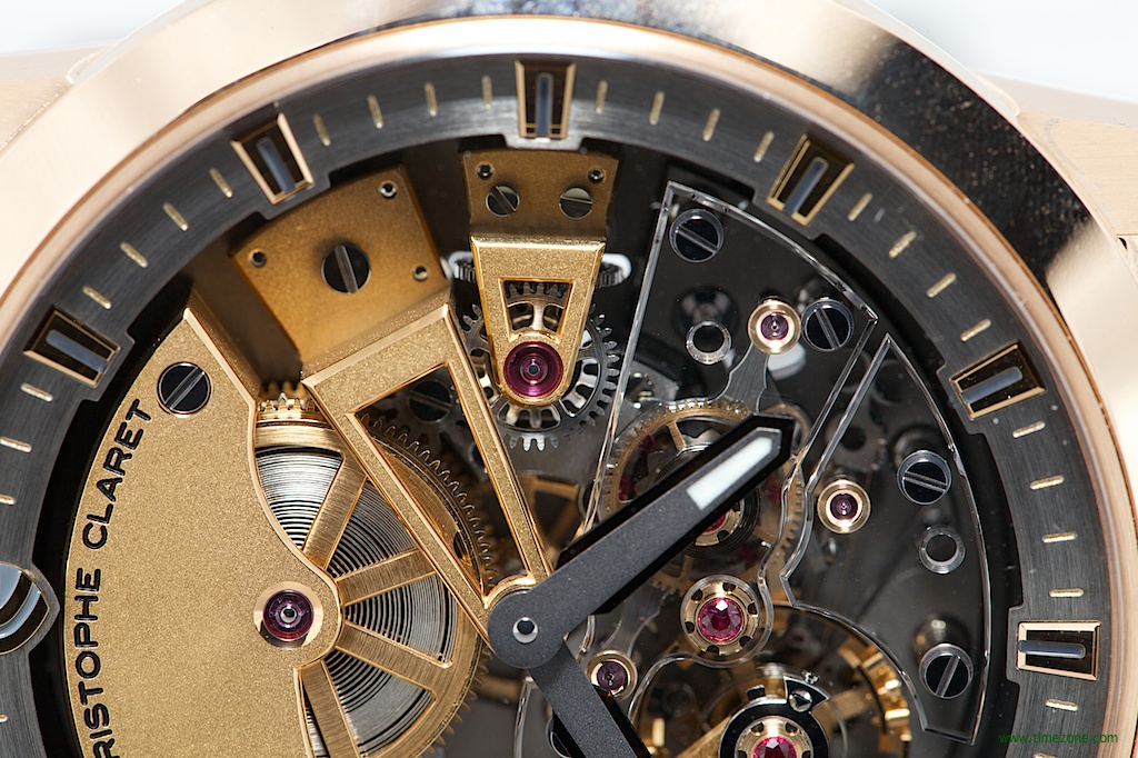 Christophe Claret Basel 2014, Maestoso, pivoted-detent escapement, detent constant force, MTR.DTC07.060-080