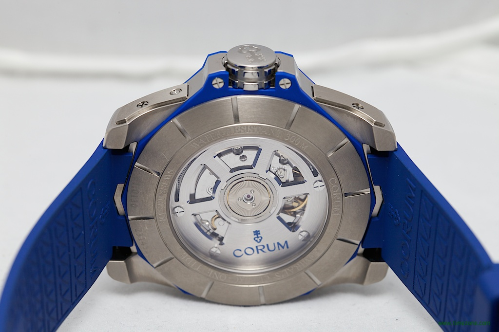 Corum Caliber 277, Admiral's Cup AC-One Tides, Corum Novelties, Corum tidal, moon tide watch, Corum Tides, Corum A277-02401, Corum 2014 Basel