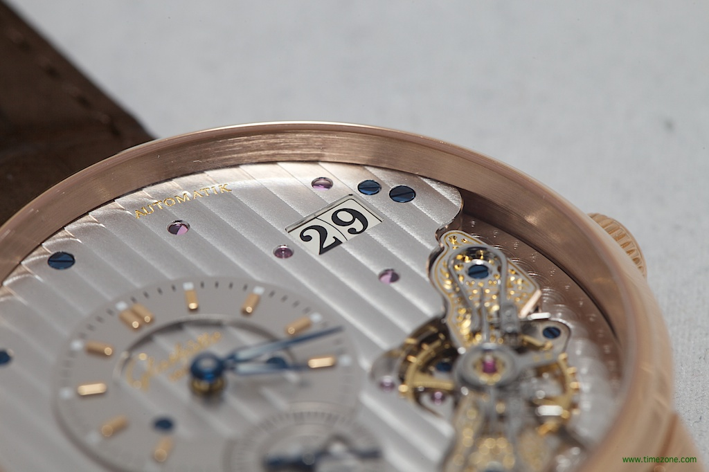 PanoMaticInverse, Caliber 91-02, Glashütte Original 1-91-02-01-05-30