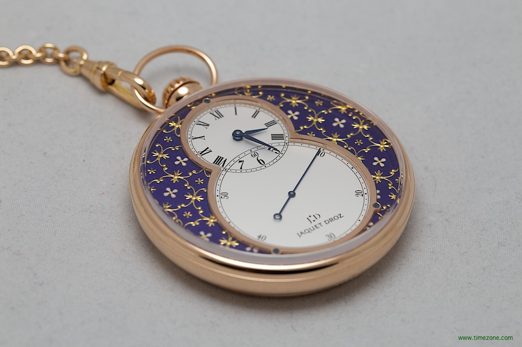 Jaquet Droz Paillonné, Pocket Watch Paillonné, Jaquet Droz J080033040