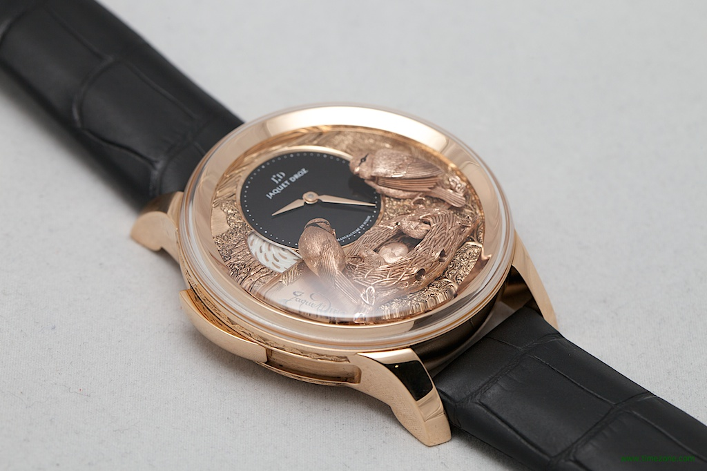 Jaquet Droz Bird Repeater, Bird Repeater Fully Engraved, Jaquet Droz J031033202