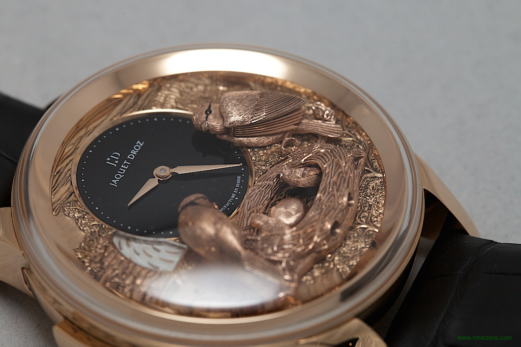 Jaquet Droz Bird Repeater, Bird Repeater Fully Engraved, Jaquet Droz automaton, Jaquet Droz J031033202