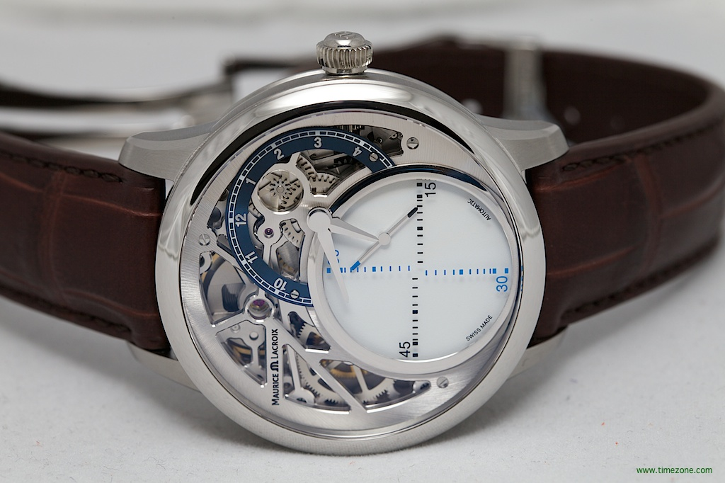 Maurice Lacroix Mystery, MP6558-SS001-094, Calibre ML215