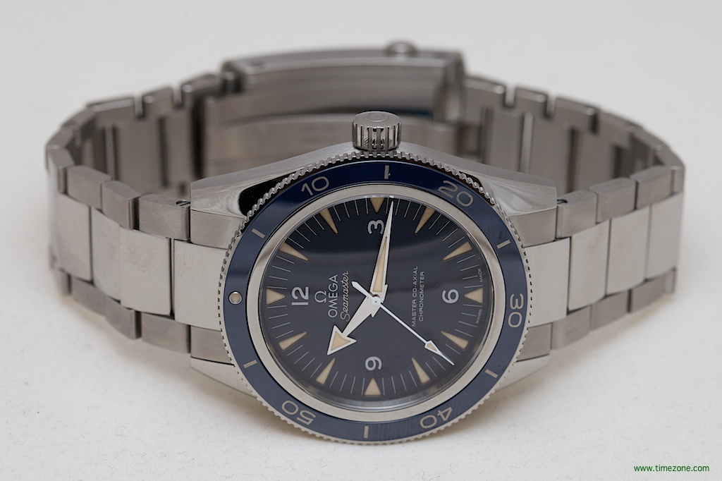Seamaster 300 Master Co-Axial, Seamaster 300 blue, Master Co-Axial 8400
