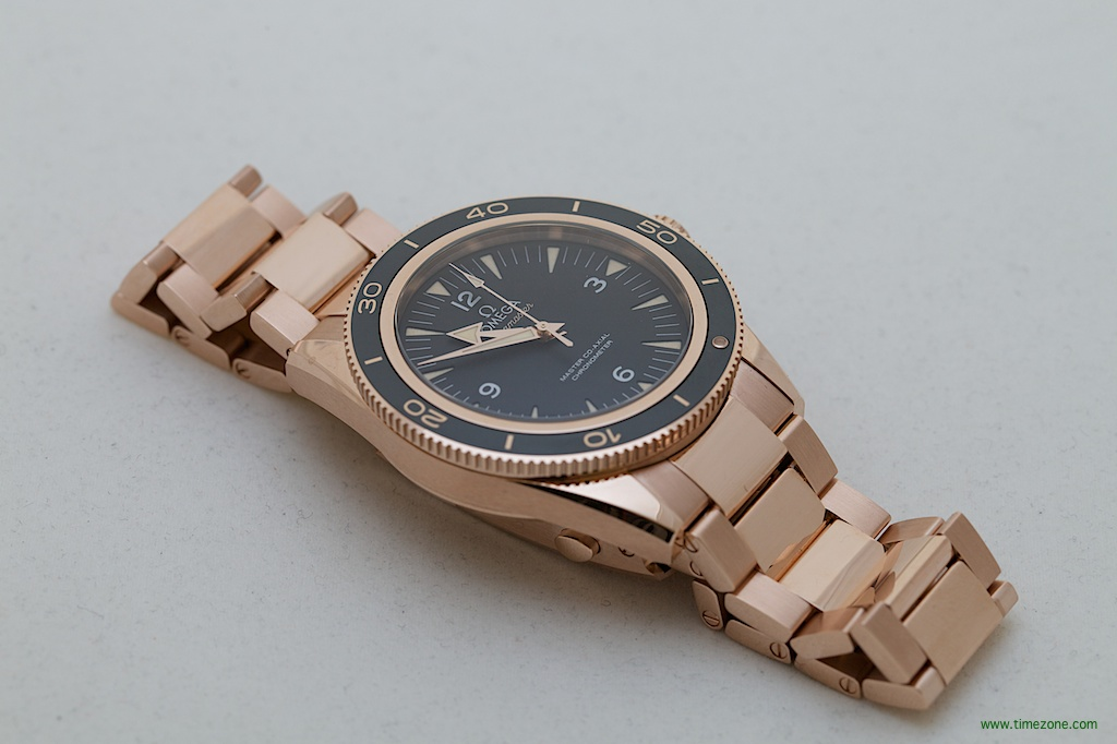 Seamaster 300 Master Co-Axial, Seamaster 300 Sedna gold, Master Co-Axial 8401, OMEGA Baselworld 2014