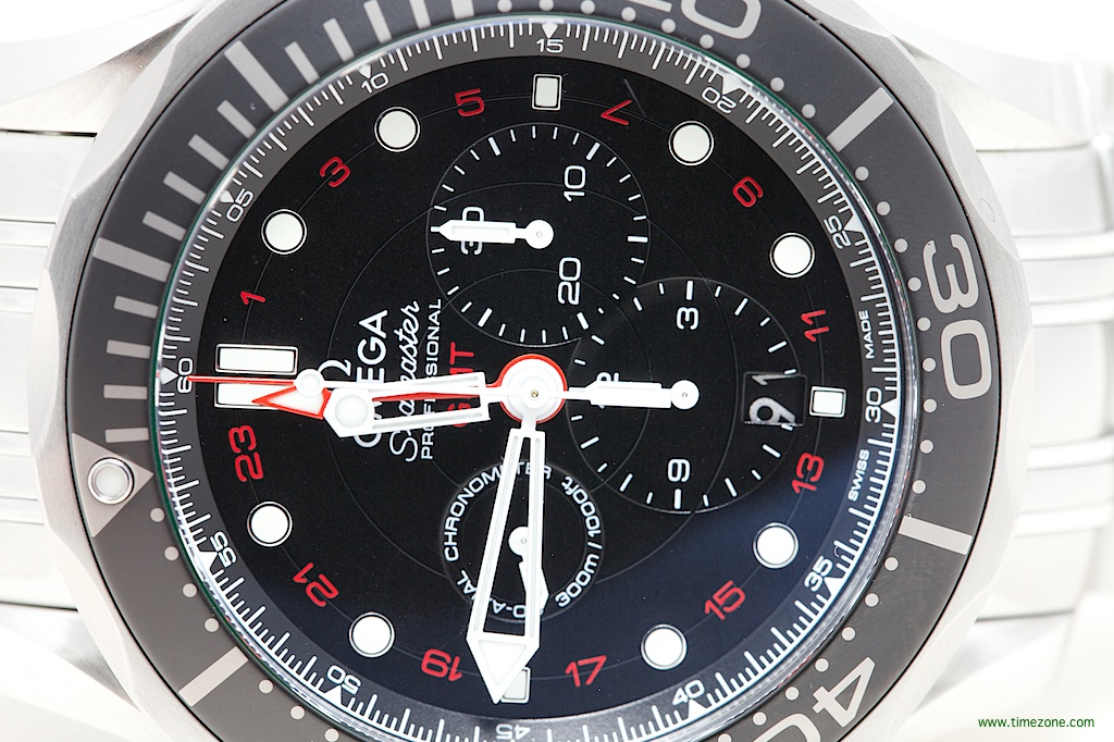 Seamaster Professional Diver 300 Chronograph GMT, Diver 300 Chronograph GMT