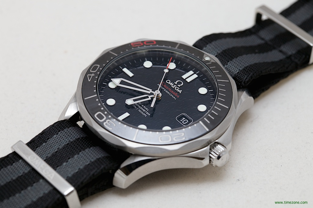 Basel Omega Watches, Omega NATO strap, OMEGA Baselworld 2014