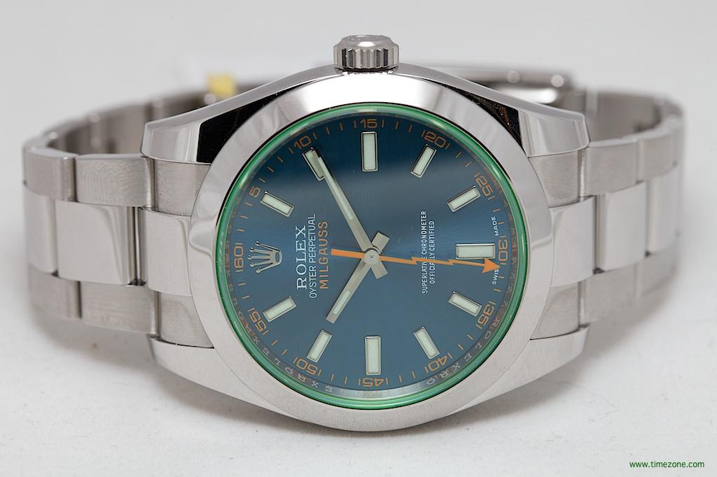Oyster Perpetual Milgauss, Rolex Milgauss Z Blue Dial, Milgauss Z Blue Dial
