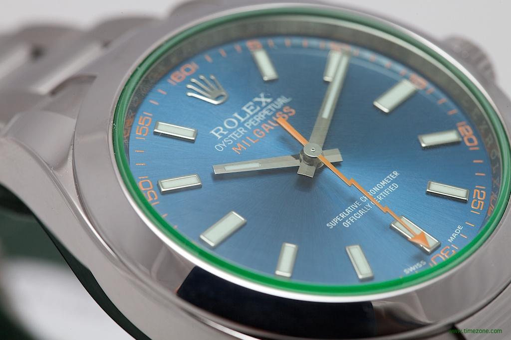 Oyster Perpetual Milgauss, Rolex Milgauss Z Blue Dial, Milgauss Blue Dial