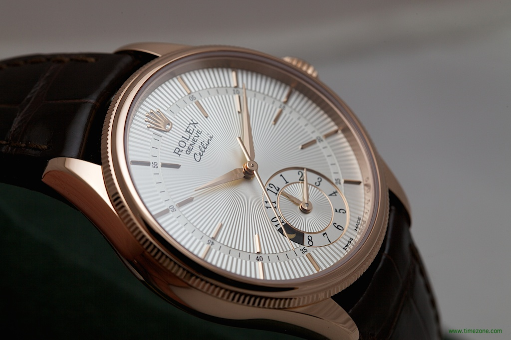 Rolex Cellini dual time, Rolex Cellini Everose dual time