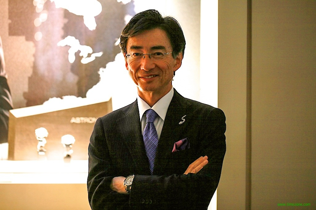 Shinji Hattori, CEO Seiko, Hattori Seiko, President CEO Seiko Watch Corporation, Astron GPS Solar Chronograph SSE001 Limited Edition