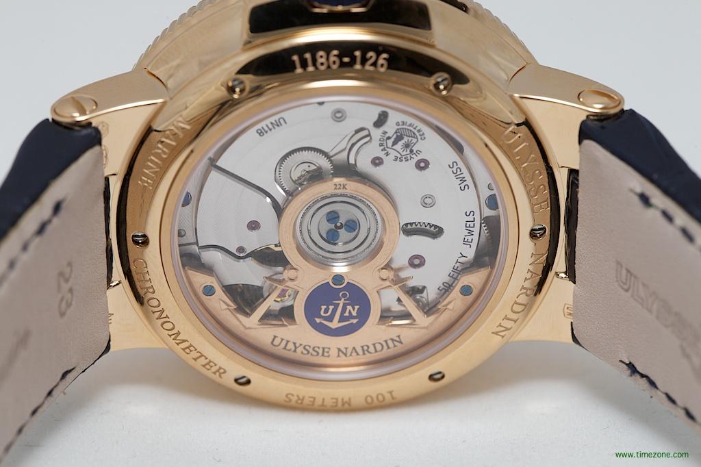 Ulysse Nardin Marine Chronometer Manufacture, Caliber UN-118, Ulysse Nardin 1183-126, Ulysse Nardin Baselworld 2014
