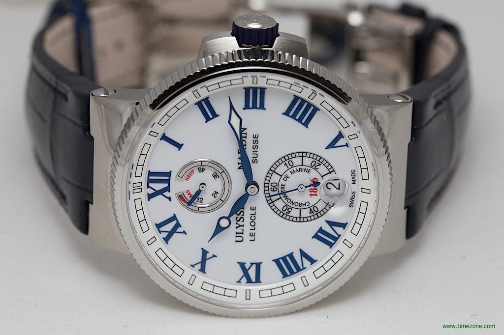 Ulysse Nardin Marine Chronometer Manufacture, Caliber UN-118, Ulysse Nardin 1183-126-7M/40, Ulysse Nardin Baselworld 2014
