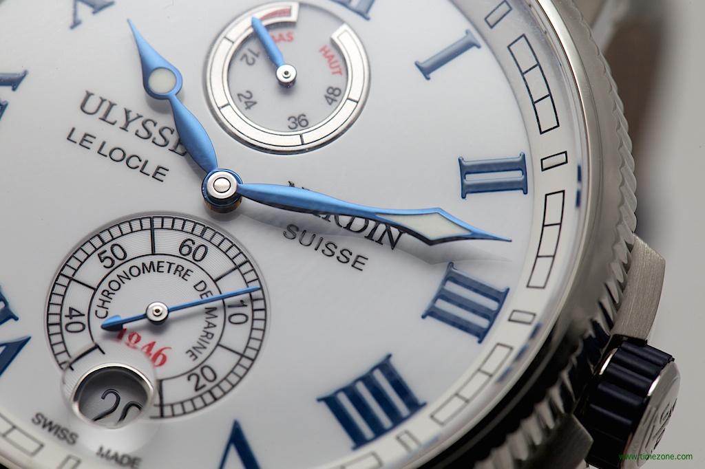 Ulysse Nardin Marine Chronometer Manufacture, Caliber UN-118, Ulysse Nardin 1183-126-7M/42, Ulysse Nardin Baselworld 2014