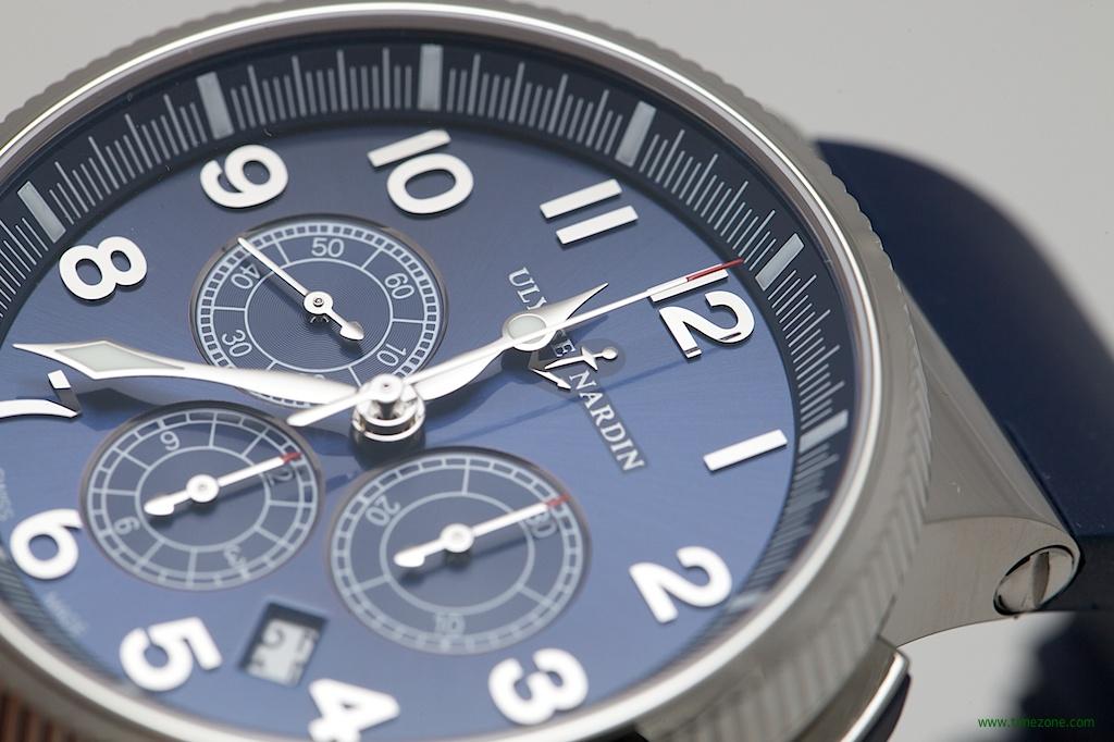 Ulysse Nardin Marine Chronograph Manufacture, Caliber UN-150, Ulysse Nardin 1506-150/63, Ulysse Nardin Baselworld 2014