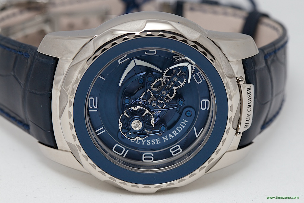 Ulysse Nardin Freak Blue Cruiser, 7-day carrousel Flying tourbillon, Ulysse Nardin Freak, Ulysse Nardin Ref. 2050-131/03, Ulysse Nardin Baselworld 2014