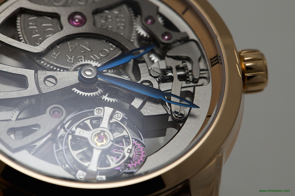 Ulysse Nardin Skeleton Tourbillon Manufacture, UN 1702-129 red gold, Ulysse Nardin Caliber UN-170