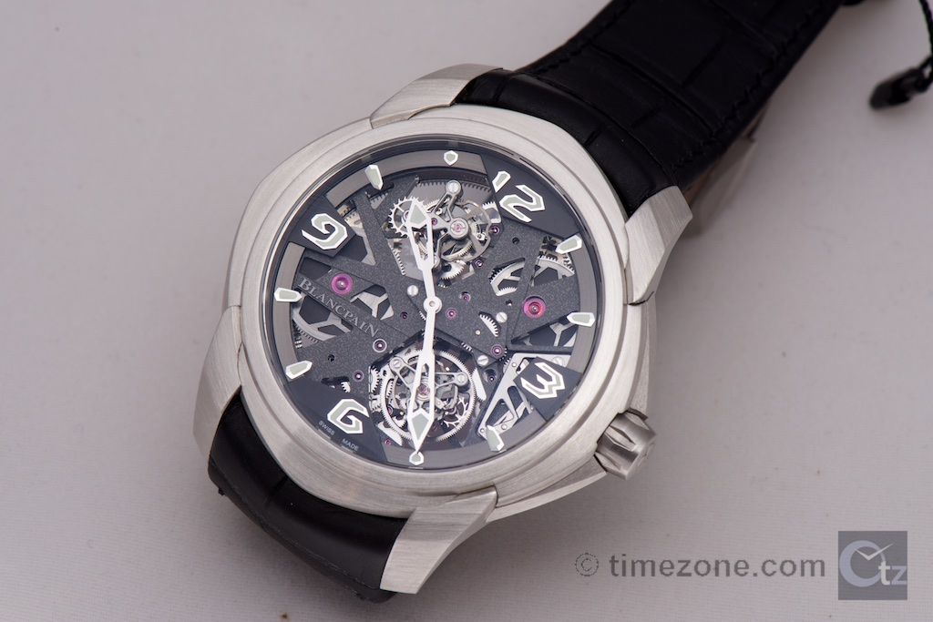 Blancpain L-evolution Tourbillon Carrousel, L-evolution Tourbillon Carrousel, caliber 2322V2, 92322-34B39-55B