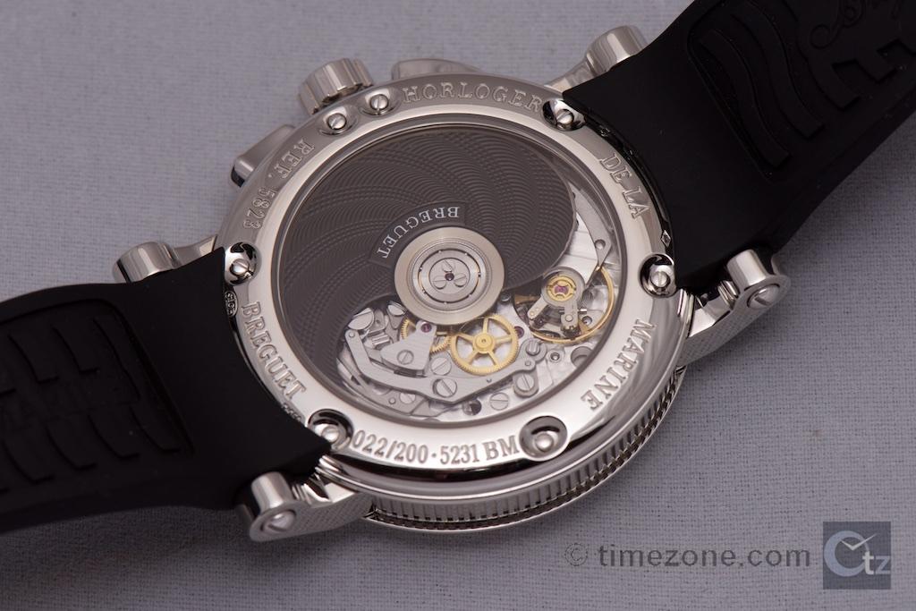 Breguet Marine Chronographe 5823, 200 ans de Marine, 200 Years of Marine
