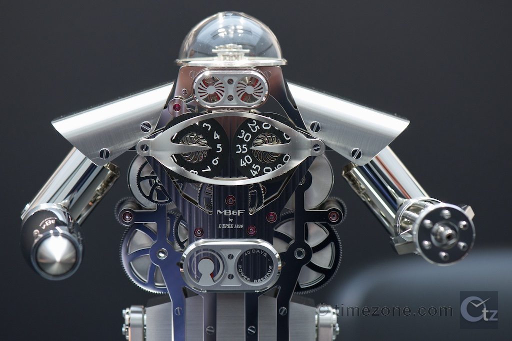 MB&F Melchior, Melchior table clock, MB&F table clock