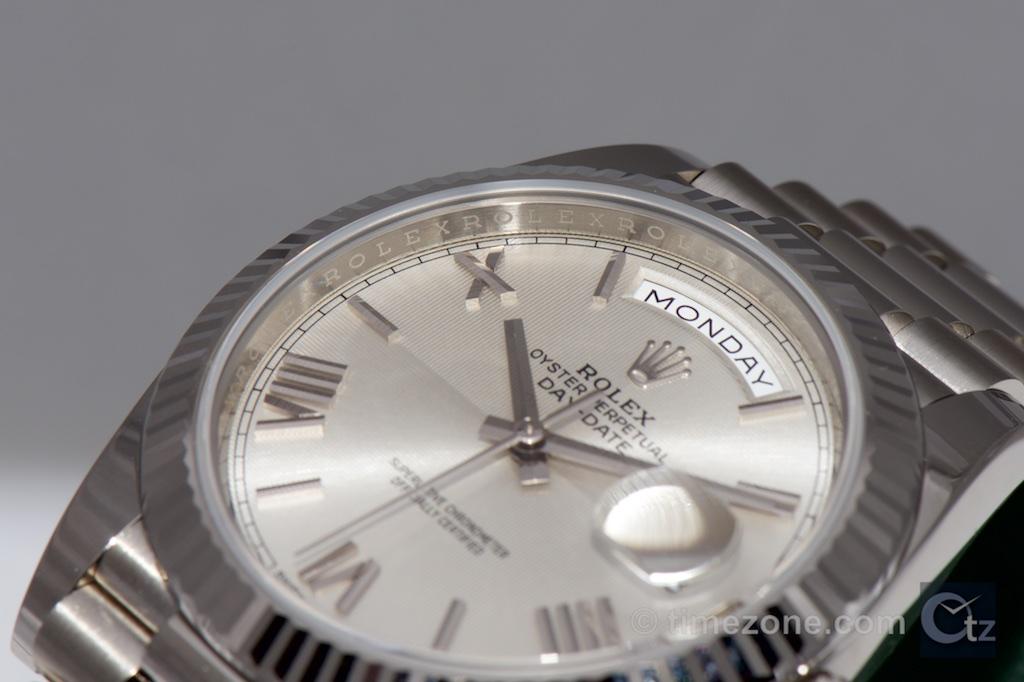 Rolex Day-Date 40, Rolex Day-Date 40, Rolex white gold, Rolex Baselworld 2015, white gold Day-Date 40, white gold Day Date 40mm, Rolex Day-Date 40 dial