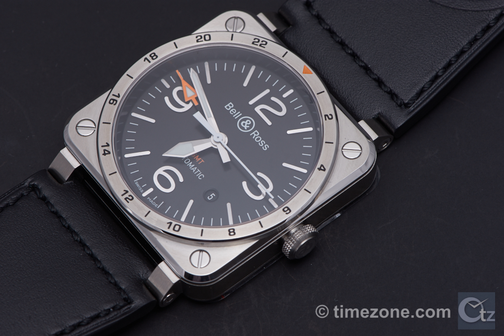 BR03 GMT, BR0393-GMT-ST/SCA, Bell & Ross BR03 GMT, Bell & Ross BR 03 GMT, B&R BR03 GMT
