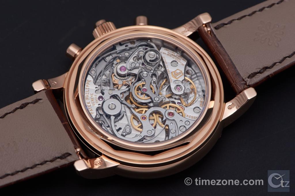 Perpetual calendar split chronograph ref 5204R, 5204R, Patek Philippe 5204R, Patek 5204R