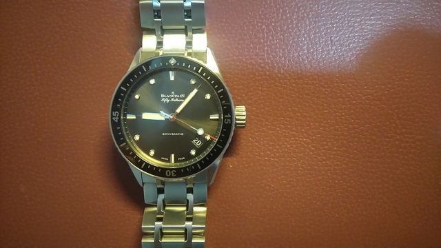 Fifty Fathoms Bathyscaphe Review, Review Blancpain Fifty Fathoms Bathyscaphe