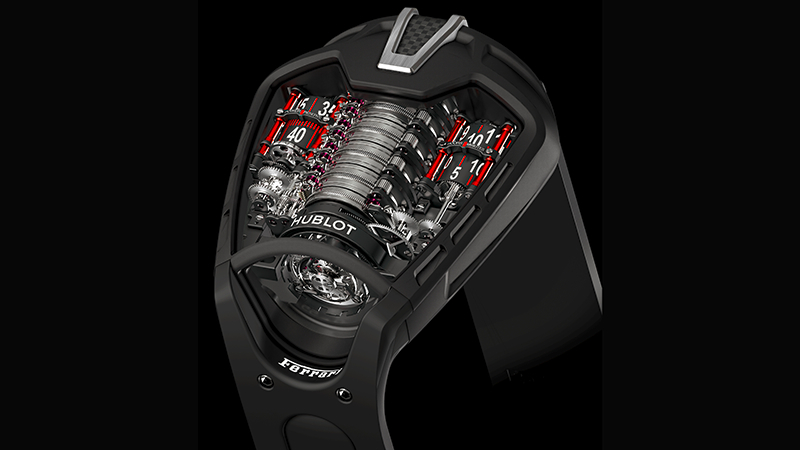 Hublot MP-05 LaFerrari, Hublot LaFerrari