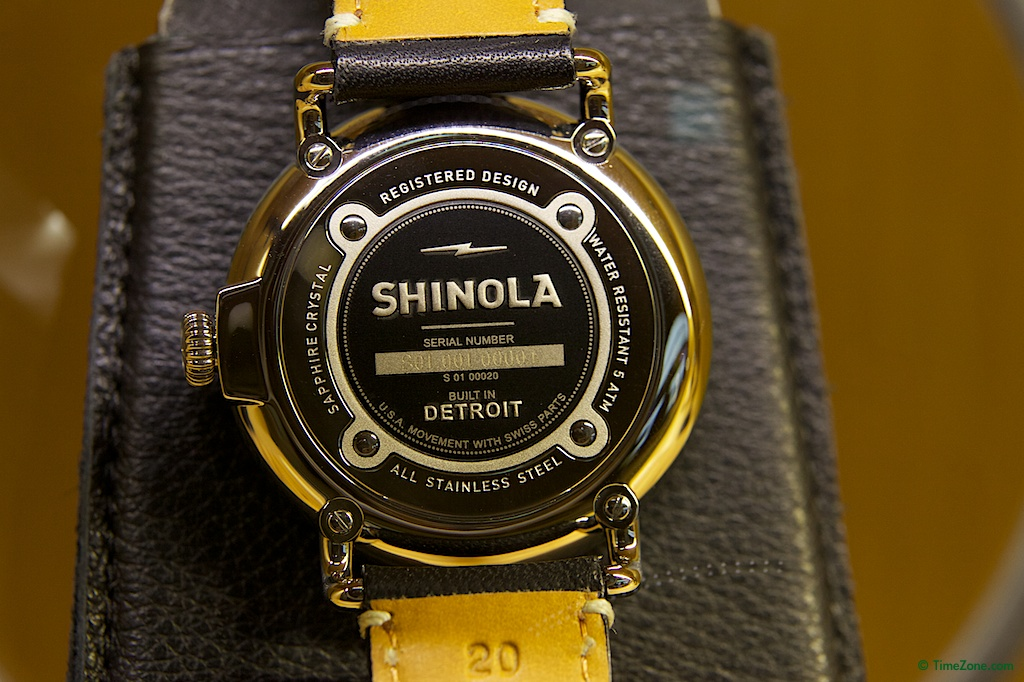 Shinola, Shinola Watch Factory, Shinola Detroit, Argonaut Building, Argonite-705, Built in Detroit