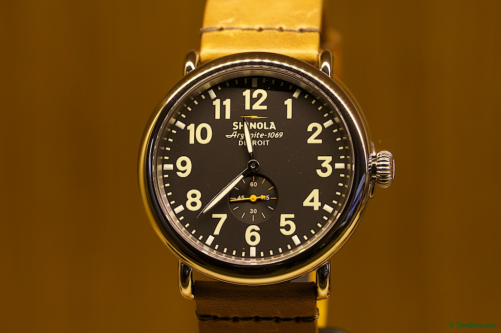Shinola, Shinola Watch Factory, Shinola Detroit, Argonaut Building, Argonite-1069, Runwell