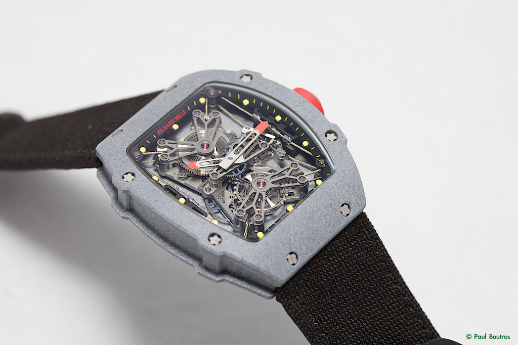 Richard Mille carbon nanotubes, Richard Mille carbon nanotube, RM27-01 case