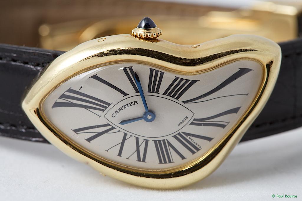 Cartier Crash And Baignoire Allongee By Paul Boutros Timezone