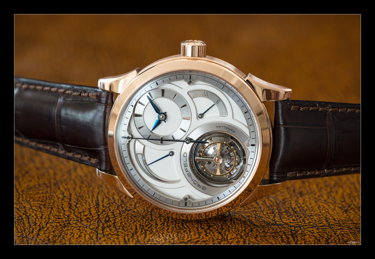 Gronefeld Parallax Tourbillon, Gronefeld Flying Tourbillon