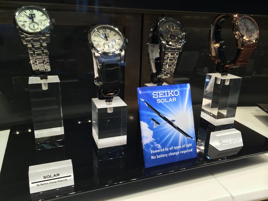 Timezone Seiko 187 New Seiko Boutique In New York