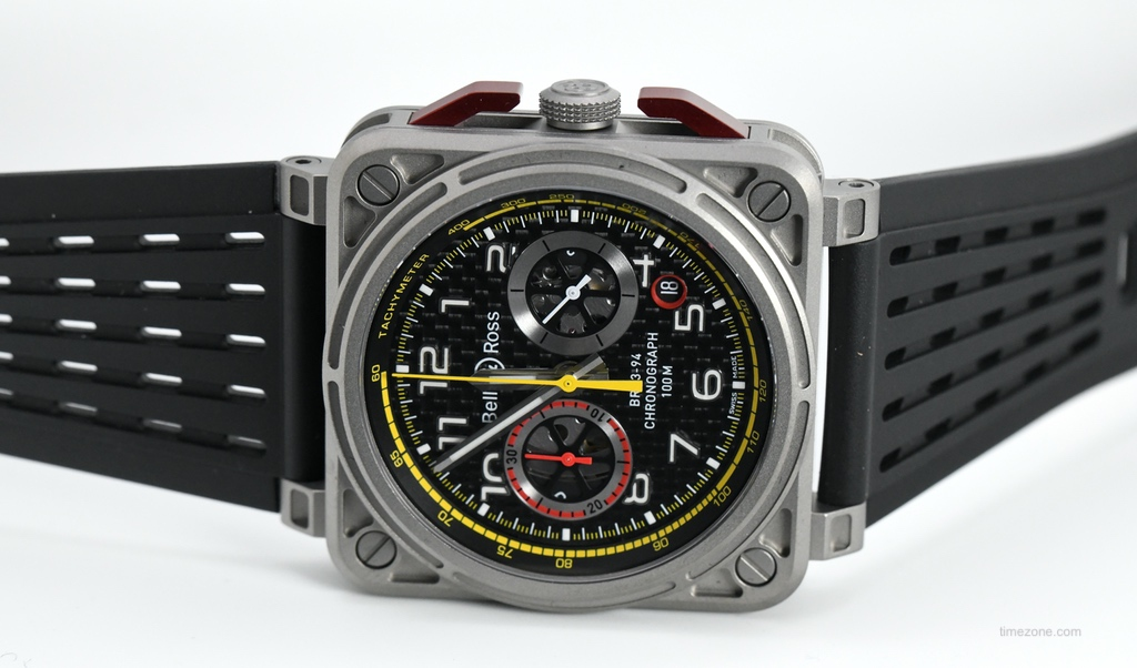 BR03-94 R.S.18, BR0394-RS18, Bell Ross Renault, Bell Ross RS 18 chronograph