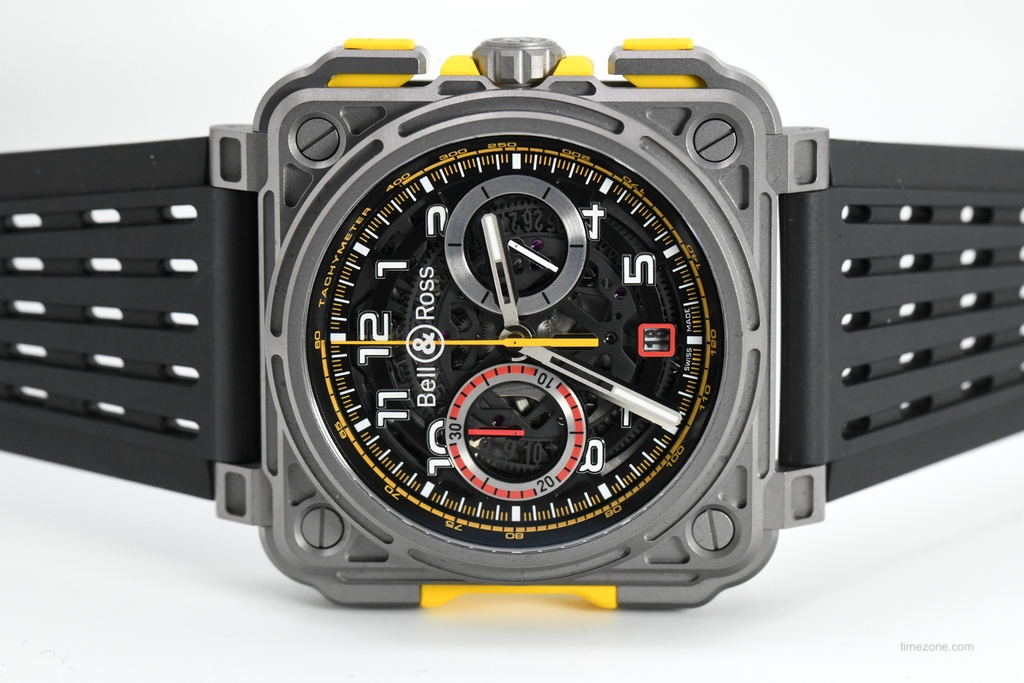 BR-X1 Chronograph R.S.18, BRX1-RS18, Bell Ross Renault, Bell Ross RS 18 chronograph