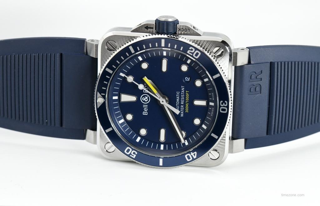 BR03-92 Diver Blue, BBR0392 Diver Blue, BR0392-D-BU-ST/SRB