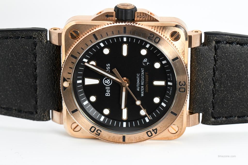 BR03-92 Diver Bronze, BBR0392 Bronze, BR0392-D-BL-BR/SCA
